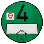 grønt mærke